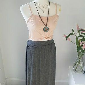 Tart Jersey Knit Maxi Skirt